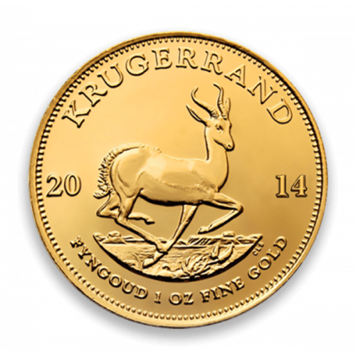 Any Year 1oz South African Gold Krugerrand