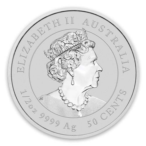 2021 1/2 oz Perth Mint Lunar Series: Year of the Ox Silver Coin
