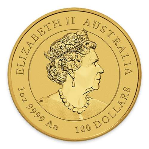 2021 1oz Perth Mint Lunar Series: Year of the Ox Gold Coin
